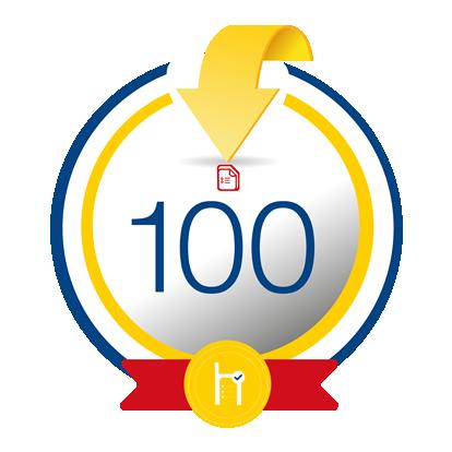 100 créditos