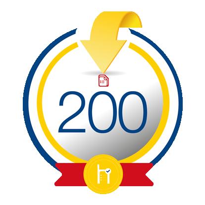 200 créditos